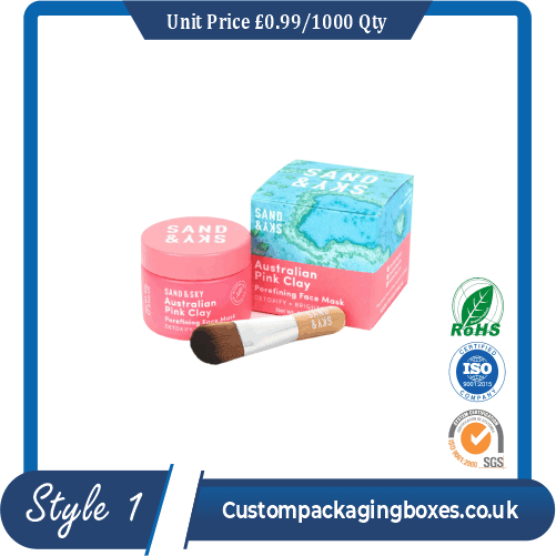 Printed Skin Care Beauty Mask Packaging Boxes