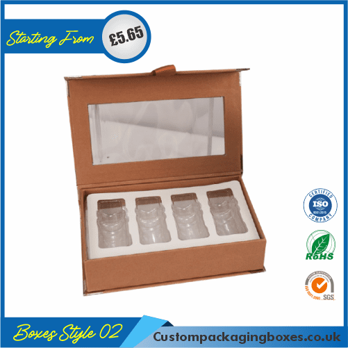 Printed Skin Care Oil Packaging Boxes 02