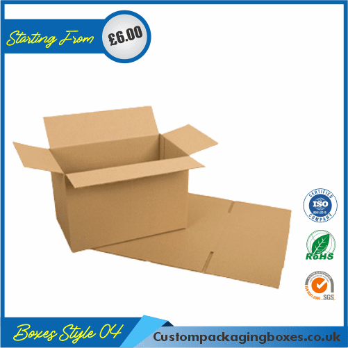 Slotted Packaging Boxes 04