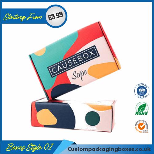 Soap Die Cut Packaging Boxes 01