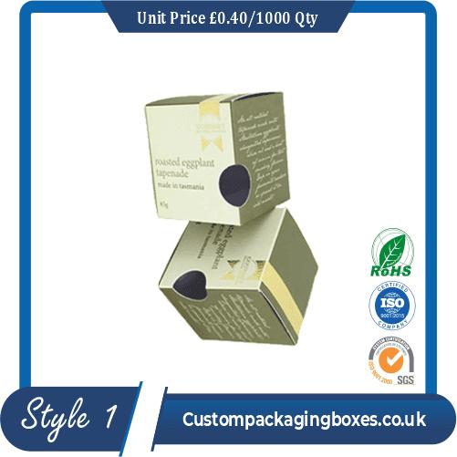 Soap Die Cut Packaging Boxes