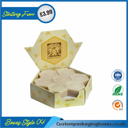 Soap Hexagon Packaging Boxes 04