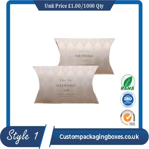 Wedding Gift Pillow Boxes
