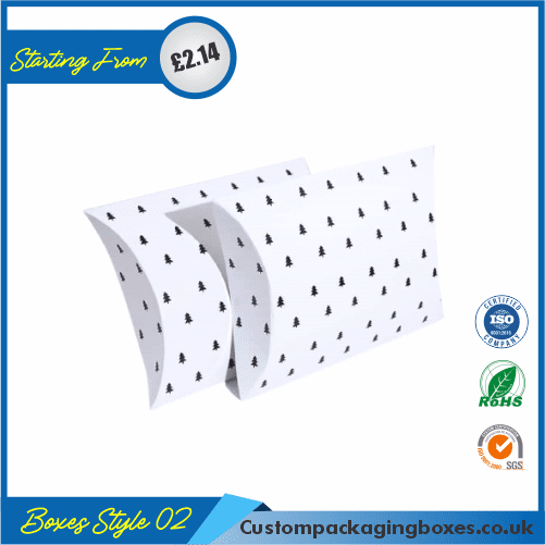 White Pillow Boxes 02
