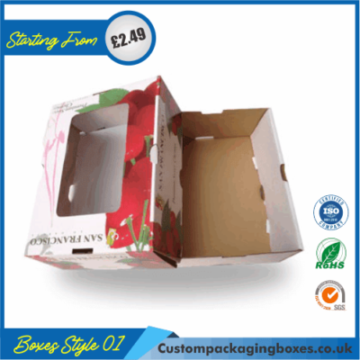 Window Corrugated Packaging Boxes 01