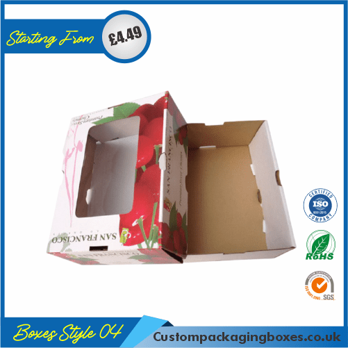 Window Corrugated Packaging Boxes 04