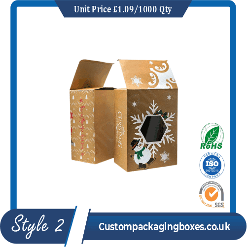 Window Corrugated Packaging Boxes
