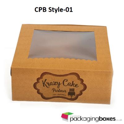 Window Dessert Packaging Boxes 1