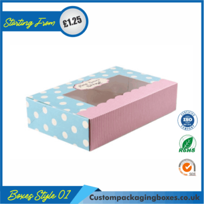 Window Dessert Packaging Boxes 01