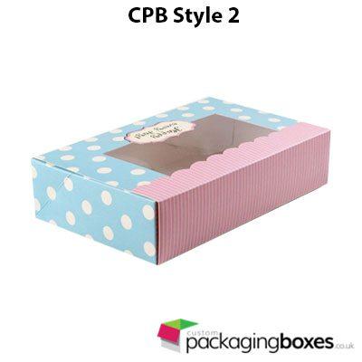 Window Dessert Packaging Boxes 2