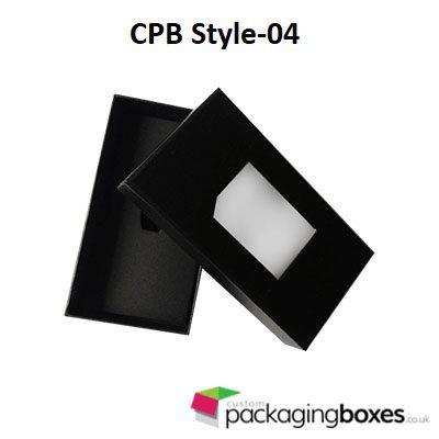 Window Tie Packaging Boxes 4