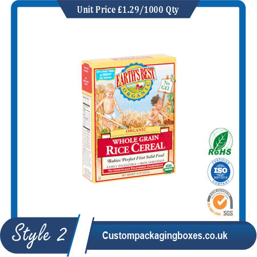 Baby Cereal Boxes