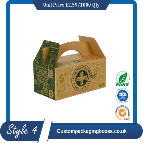 Cardboard Carry Packaging Boxes
