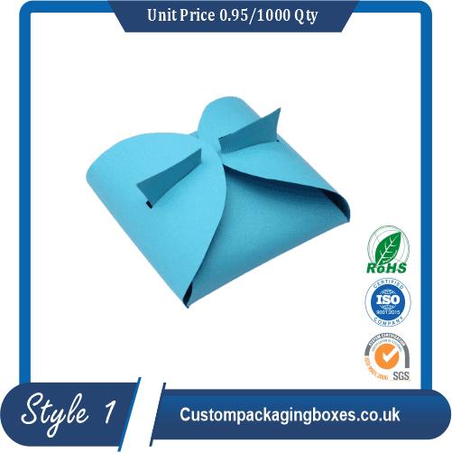 custom Pillow Paper Gift Boxes sample #1