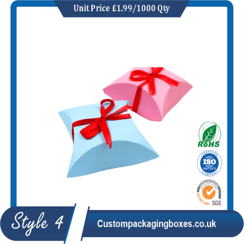 Pillow Paper Gift Boxes