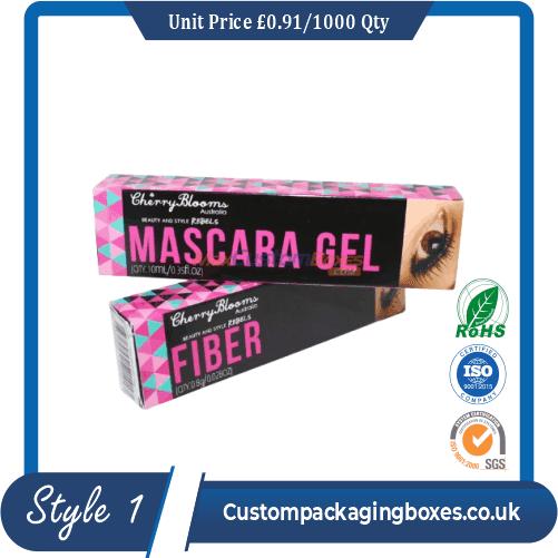custom printed mascara packaging boxes sample #1