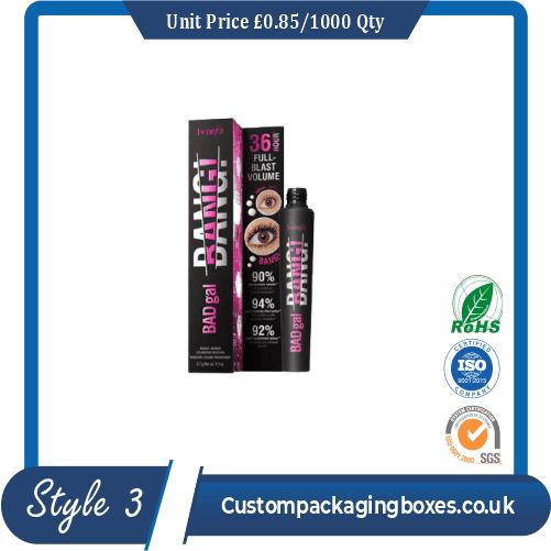 custom printed mascara packaging boxes sample #3