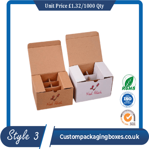 custom printed nail polish packaging boxes sample #3