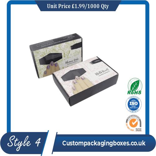 custom printed nail polish packaging boxes sample #4