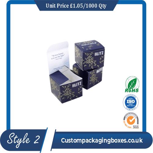 custom wax stripes packaging boxes sample #2