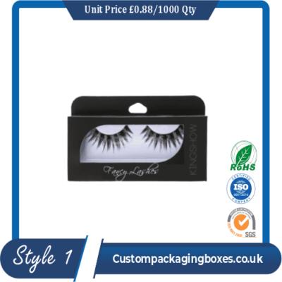 Custom Eyelash Packaging Boxes Sample Style #1