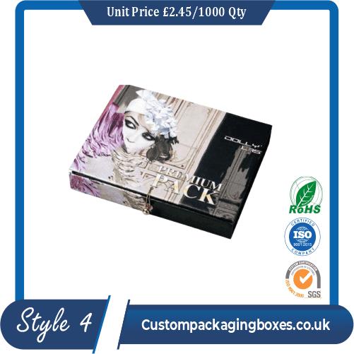 Custom Eyelash Packaging Boxes Sample Style #4