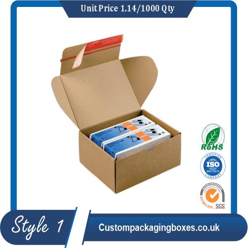 Custom mailer boxes sample #1