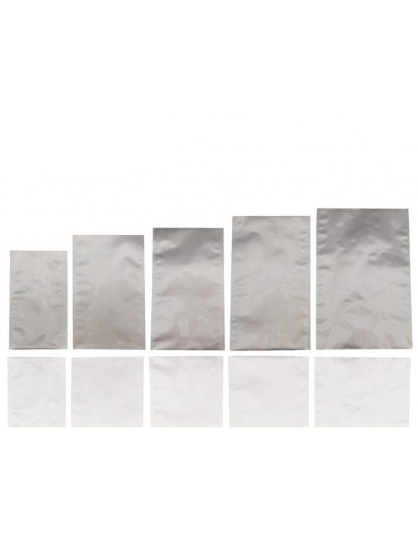 Aluminium Silver Matt Flat Pouch (2)