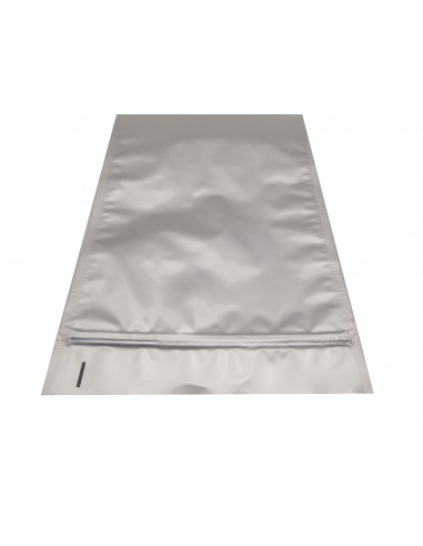 Aluminum Flat Pouch with Zip Lock 2
