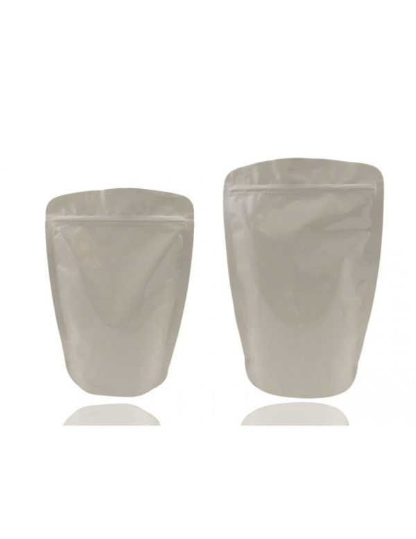 Aluminum Pouch with Zip Lock Rounded Corners 1