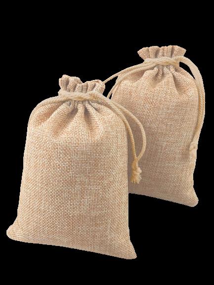 Burlap Jute Favor Gift Bags