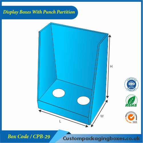 Display Boxes With Punch Partition 01