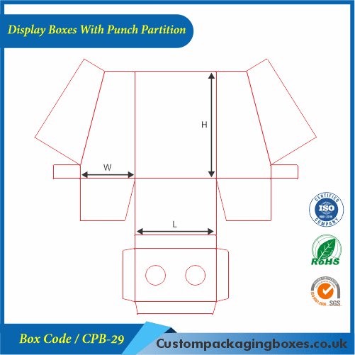 Display Boxes With Punch Partition 04