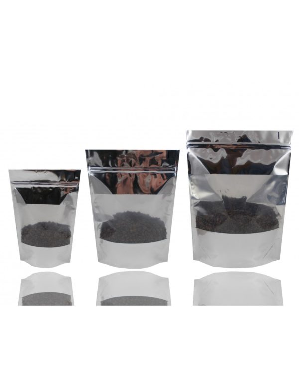 Extra Thick Stand Up Pouch with Window and Zip Lock 2