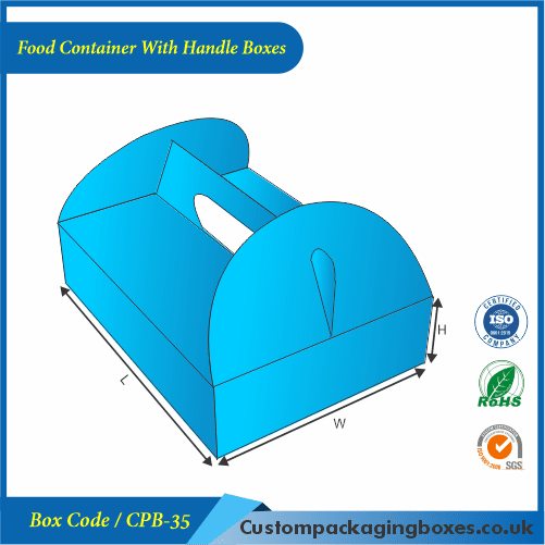 Food Container With Handle Boxes 01