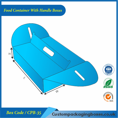 Food Container With Handle Boxes 02