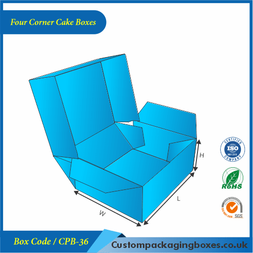Four Corner Cake Boxes 02