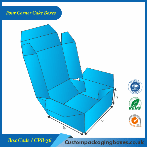 Four Corner Cake Boxes 03