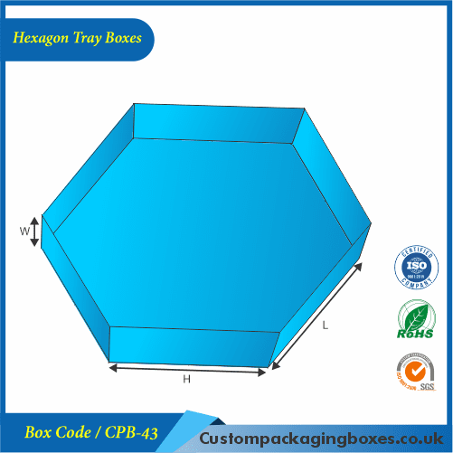 Hexagon Tray Boxes 01