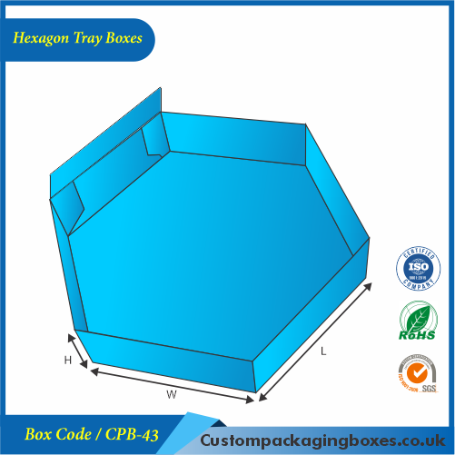 Hexagon Tray Boxes 02
