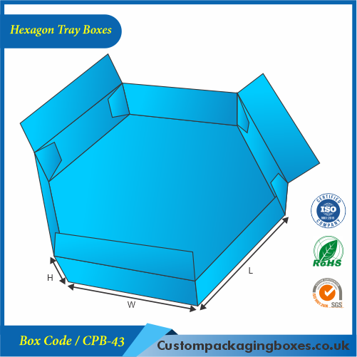 Hexagon Tray Boxes 03