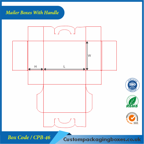 Mailer Boxes With Handle 04