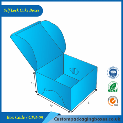 Self Lock Cake Boxes 01