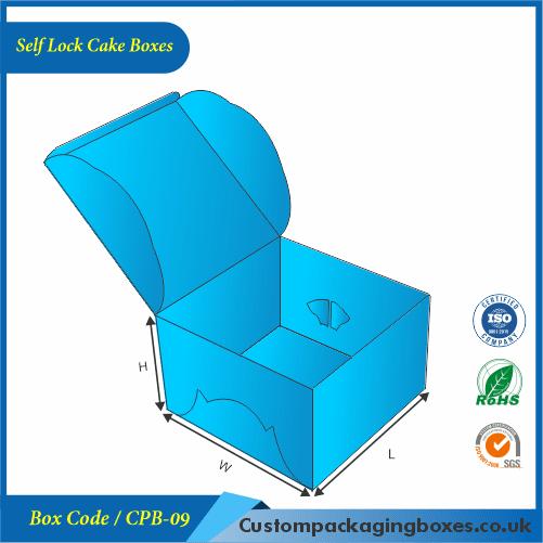 Self Lock Cake Boxes 01