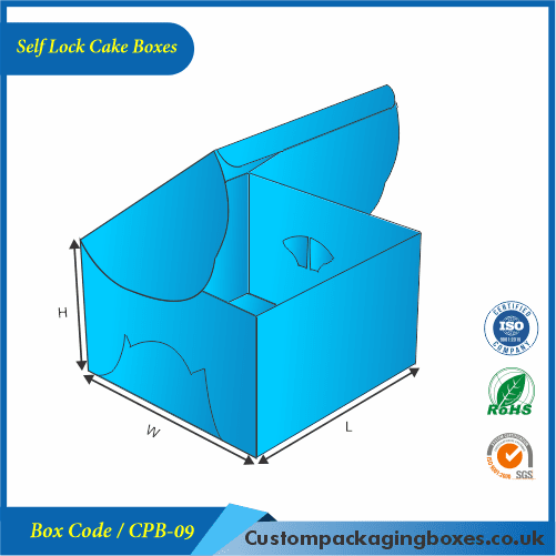 Self Lock Cake Boxes 02