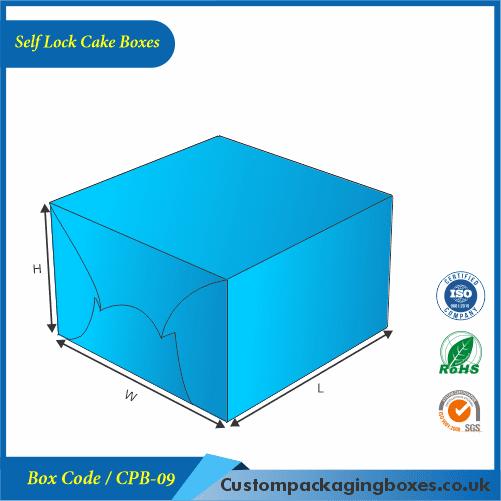 Self Lock Cake Boxes 03