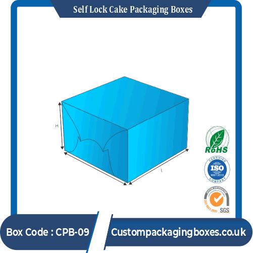 Self Lock Cake Packaging Boxes