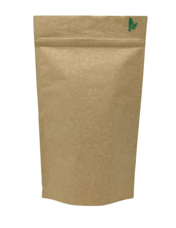 Fully Biodegradable High Barrier Pouch with Zip Lock 1
