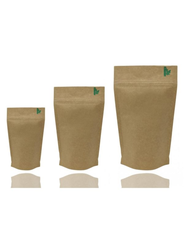 Fully Biodegradable High Barrier Pouch with Zip Lock 3