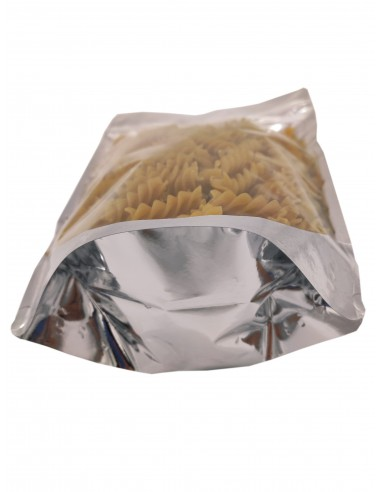 Mylar One Side Transparent Stand Up Pouch with Zip Lock 3